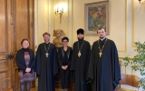 Состоялась встреча митрополита Корсунского и Западноевропейского Антония с мэром VII округа Парижа Рашидой Дати