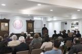 Архиепископ Телмисский Иов выступил с докладом в Духовно-образовательном центре им. прп. Женевьевы Парижской