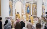Епископ Корсунский Нестор совершил Божественную Литургию в Троицком соборе