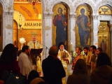 Клирик епархии принял участие в праздновании Торжества Православия в соборе греческой митрополии в Париже