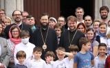 Митрополит Антоний совершил Божественную литургию в Серафимовском храме в Бордо