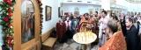 Архиерейское богослужение совершено в престольный праздник храма равноапостольной Марии Магдалины в Мадриде