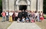 В Серафимовском приходе в Бордо состоялся праздничный прием по случаю обретения нового богослужебного помещения