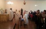 В день памяти святителя Николая Чудотворца перед его десницей в Сен-Николя-де-Пор совершена Божественная Литургия