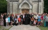 Совершено малое освящение нового храма Серафимовского прихода в Бордо