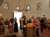 Епископ Нестор совершил молебен в храме общины г. Калонж