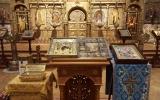 Святыни Свято-Успенского Вышенского монастыря посетили Никольский собор в Ницце