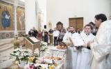 В праздник Преображения епископ Корсунский Нестор совершил Божественную литургию в Троицком кафедральном соборе