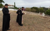Патриарший экзарх отслужил молебен на месте строительства первого русского храма в Португалии