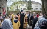 В день Воскресения Христова епископ Нестор совершил ряд пасхальных визитов и встреч