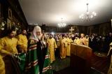 Слово Святейшего Патриарха Кирилла после Всенощного бдения в Трехсвятительском храме в Париже