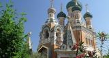 В день 1030-летия Крещения Руси епископ Нестор совершил Божественную литургию в Никольском соборе в Ницце
