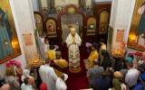 Епископ Нестор совершил Божественную литургию в храме в честь Всех святых в Лиссабоне