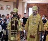 Митрополит Антоний совершил Божественную литургию во Всехсвятском храме Лиссабона