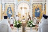 Патриарший Экзарх Западной Европы совершил всенощное бдение в Троицком кафедральном соборе в Париже