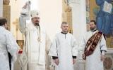В Лазареву субботу епископ Нестор и митрополит Западно- и Среднеевропейский Антоний совершили Божественную литургию в Троицком соборе в Париже