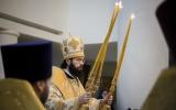 Патриарший Экзарх Западной Европы совершил Божественную литургию в Свято-Троицком соборе в Париже