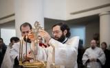 В праздник Крещения Господня Патриарший Экзарх совершил Литургию в Свято-Троицком кафедральном соборе Парижа
