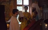 Патриарший экзарх совершил монашеский постриг преподавателя Духовно-образовательного центра им. прп. Женевьевы Парижской