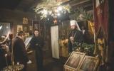 Патриарший экзарх совершил всенощное бдение в Константино-Еленинском храме в Кламаре