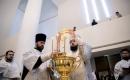 В праздник Крещения Господня Патриарший Экзарх совершил Литургию в Свято-Троицком кафедральном соборе г. Парижа