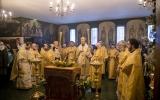 В Париже торжественно отметили престольный праздник Трехсвятительского кафедрального храма