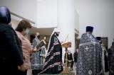 Митрополит Антоний совершил утреню с чтением канона преподобного Андрея Критского в Троицком кафедральном соборе в Париже