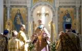 Митрополит Антоний совершил всенощное бдение в Троицком кафедральном соборе г. Парижа