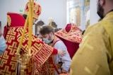 Иерей Максим Политов удостоен права ношения палицы