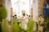 В канун праздника Пятидесятницы митрополит Антоний совершил всенощное бдение в Троицком кафедральном соборе в Париже