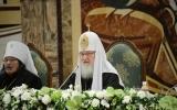 На Архиерейском Соборе Святейший Патриарх Кирилл рассказал о положении приходов за рубежом