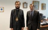 Митрополит Корсунский и Западноевропейский Антоний встретился с Послом Ливана во Франции