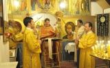 Пасхальная ночь в Троицком монастыре в Домпьер