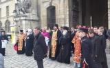 Епископ Нестор совершил панихиду у гроба великого князя Николая Николаевича и его супруги
