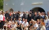 На приходе в Лагуше епископ Нестор возглавил Божественную литургию и общее собрание духовенства Португальского благочиния