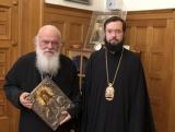 Митрополит Корсунский и Западноевропейский Антоний встретился с Предстоятелем Элладской Православной Церкви