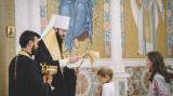 Молебен перед началом нового учебного года Русской церковно-приходской школы при Троицком кафедральном соборе в Париже