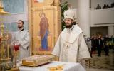 В канун праздника Рождества Христова Патриарший Экзарх совершил всенощное бдение в Свято-Троицком кафедральном соборном храме в Париже