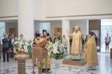 Епископ Нестор совершил Божественную литургию в Троицком соборе