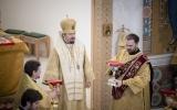 В неделю 29-ую по Пятидесятнице в Троицком кафедральном соборе совершена Литургия архиерейским чином
