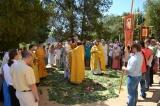 Епископ Нестор совершил Божественную литургию в храме в честь мучеников Кирика и Иулитты Тарсийских в Льорет-де-Мар