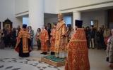 В праздник Воскресения Христова Управляющий Корсунской епархией совершил ряд пасхальных визитов