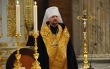 Митрополит Корсунский Иоанн совершил вечерню на мощах святого апостола Павла