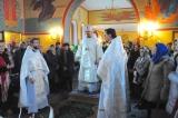 В неделю по Богоявлении, митрополит Корсунский и Западноевропейский Иоанн совершил Божественную литургию в римском храме в честь вмц. Екатерины