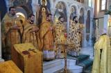 Патриарший Экзарх Западной Европы совершил Литургию в Екатерининском храме в Риме
