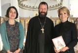 Известный испанский политик посетила храм святой Марии Магдалины в Мадриде