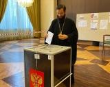 Митрополит Антоний и архиепископ Нестор приняли участие в голосовании