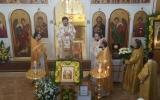 Управляющий Корсунской епархией посетил с архипастырским визитом Благовещенский храм в Барселоне
