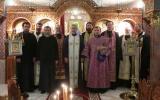 Общеправославная вечерня в Неделю Торжества Православия в Ницце