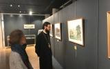 Патриарший экзарх посетил выставку картин Александра Серебрякова